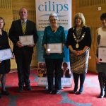 Honorary Members with CILIPS President Audrey Sutton