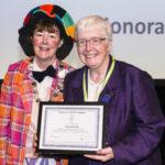 Margaret Menzies receives Honorary Membership Award