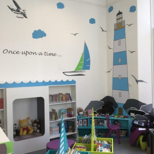 Banff Library children area - Abdnshire