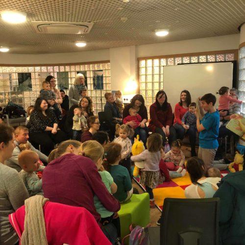 Bookbug session at Stornoway Library 2019
