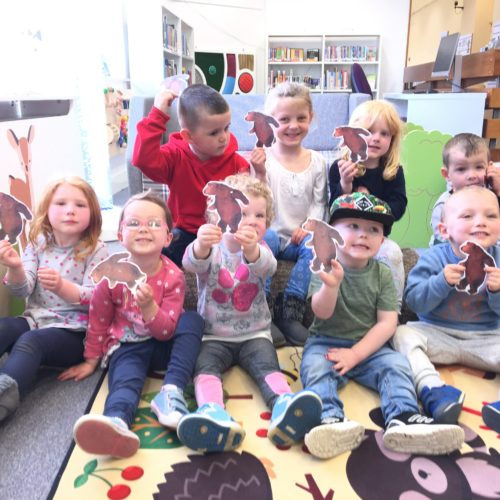 Inverurie Library - Going on a Bear Hunt activity - Abdnshire