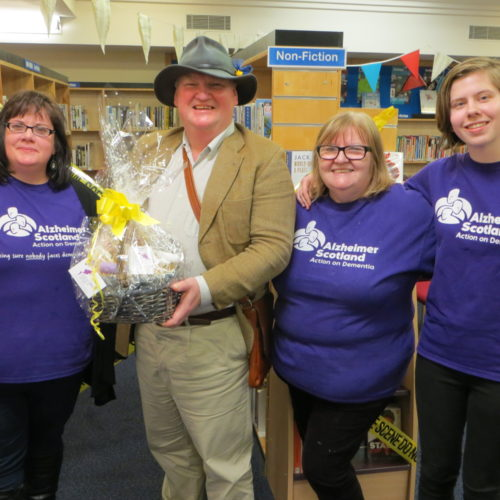 Murder Mystery Play at Stornoway Library in aid of Alzheimer Scotland